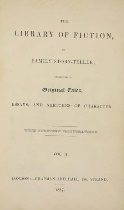 [DICKENS, Charles]. The Librar