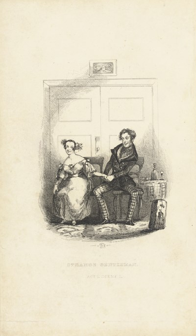 [DICKENS, Charles].  The Stran