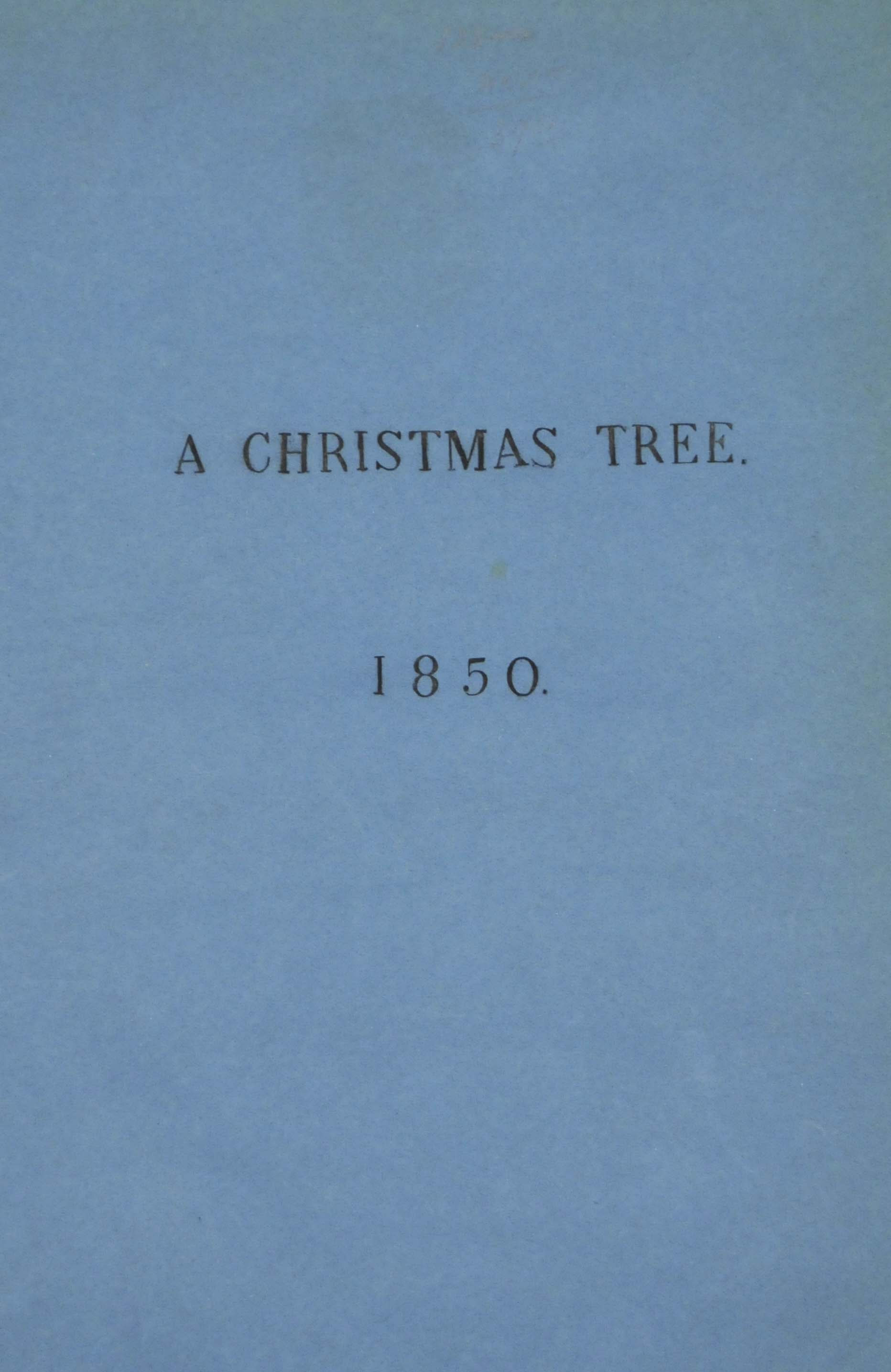 DICKENS, Charles.  The Christm