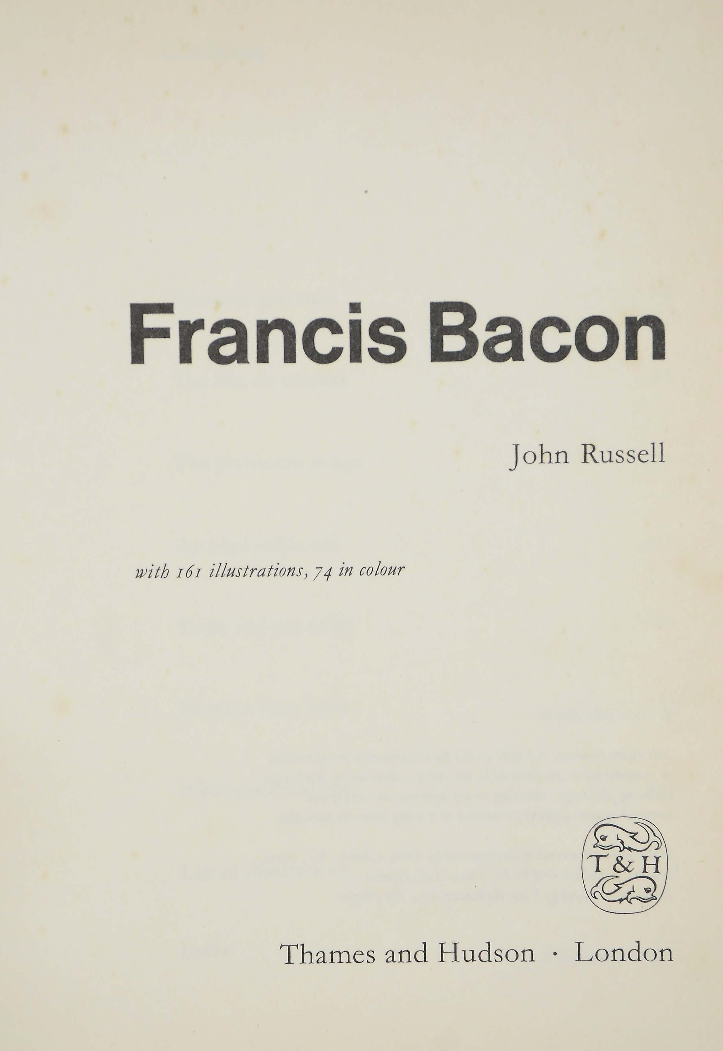BACON, Francis (1909-92) -- Jo