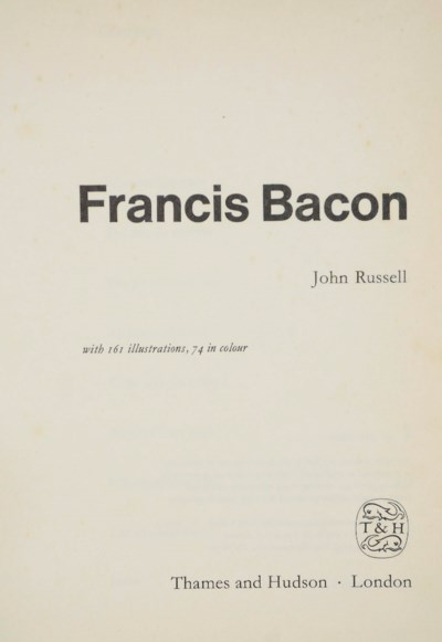 BACON, Francis (1909-92) -- Jo