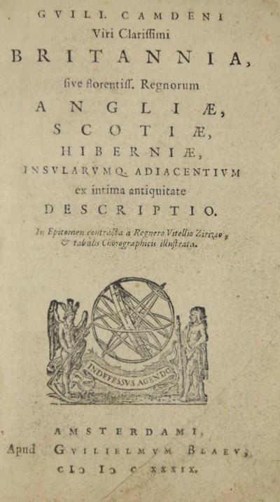 CAMDEN, William (1551-1623).