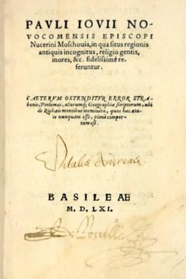 GIOVIO, Paolo (1483-1552). Mos