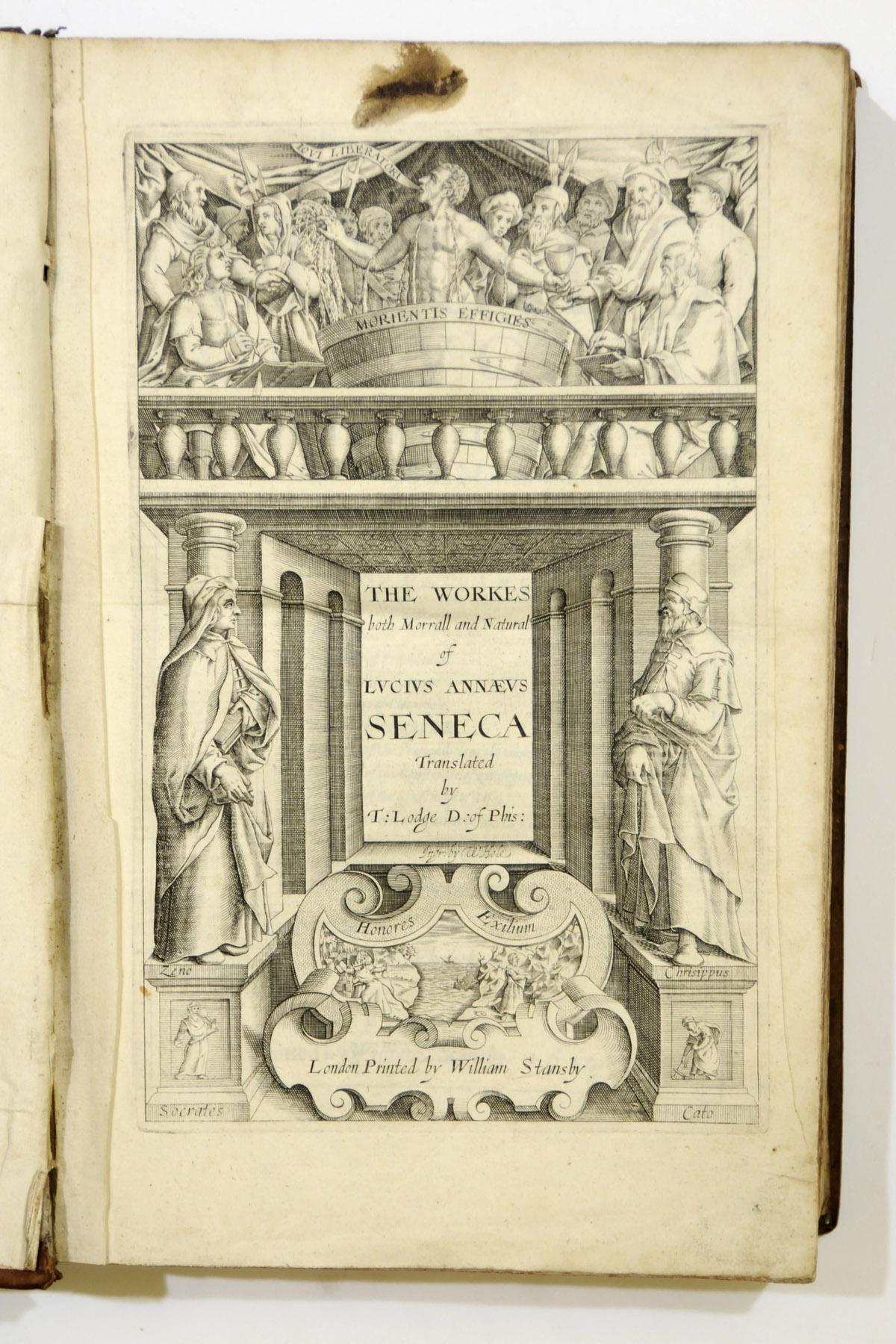 SENECA, Lucius Annaeus (?4 B.C