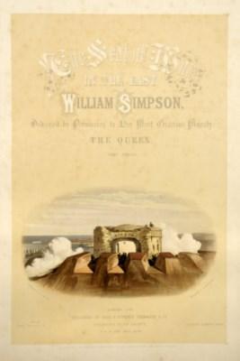 SIMPSON, William (1823-99).  T