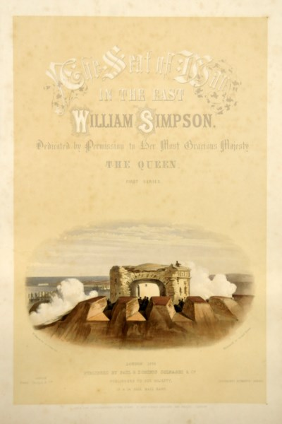 SIMPSON, William (1823-99).  T