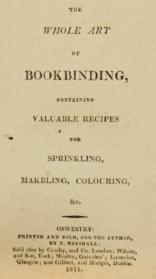 The Whole Art of Bookbinding,