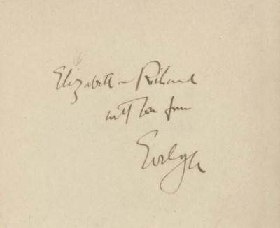WAUGH, Evelyn (1903-66). Decli