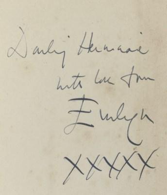 WAUGH, Evelyn (1903-66).  Brid