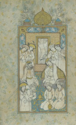 A SAFAVID-STYLE MINIATURE WITH