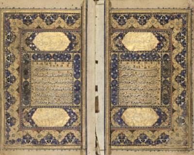 A QUR'AN, NORTH INDIA, 18TH CE