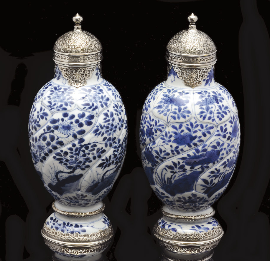 A PAIR OF KANGXI ISLAMIC MARKE