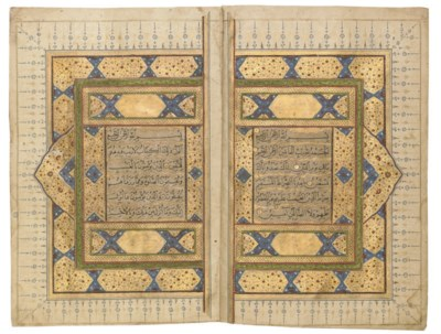 A NORTH INDIAN QUR'AN, LATE 18