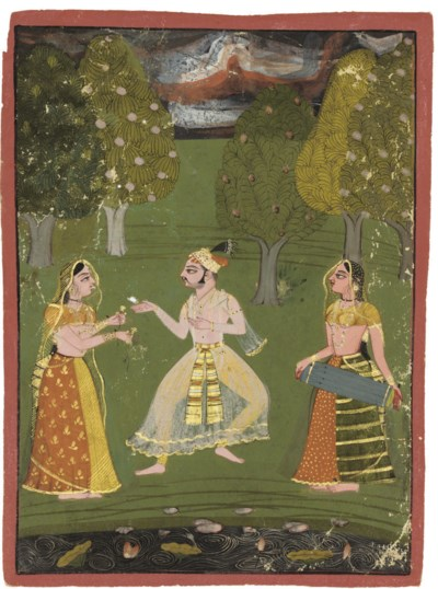 A NOBLEMAN WITH TWO FEMALE MUS
