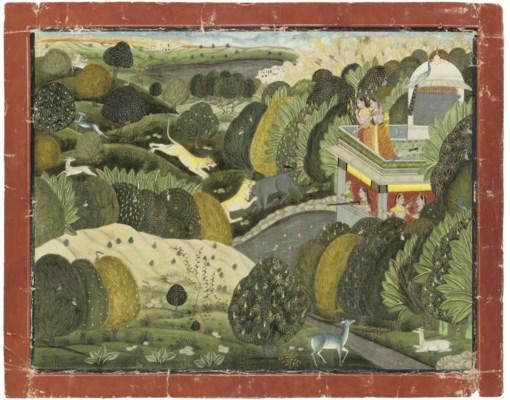 WOMEN HUNTING LIONS, KOTAH, IN