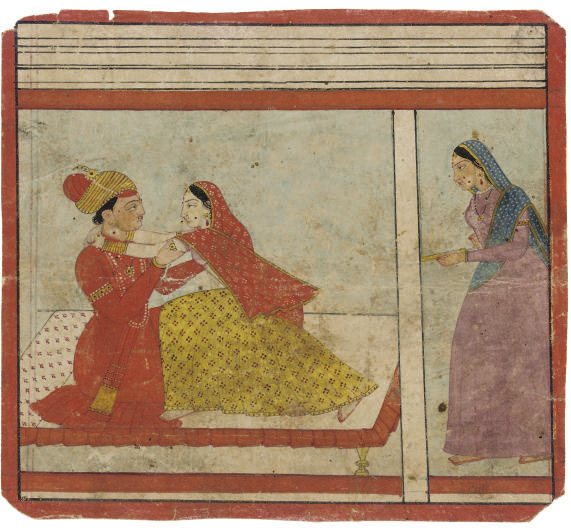 AN ILLUSTRATION FROM THE MADHU