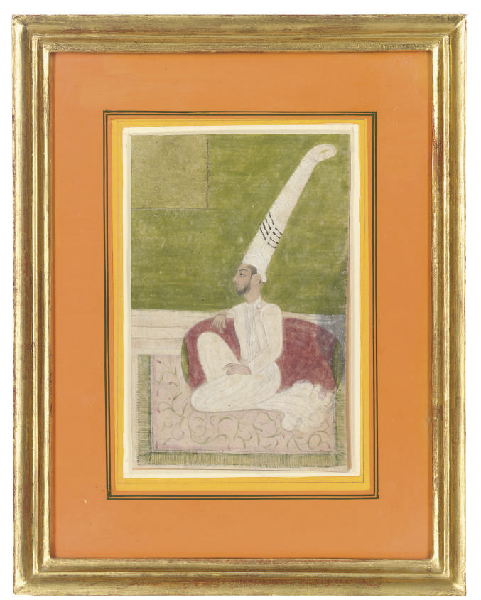 A SUFI IN A TALL TURBAN, BIKAN