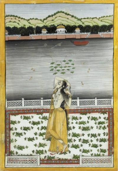 A YOUNG LADY DANCING, KISHANGA