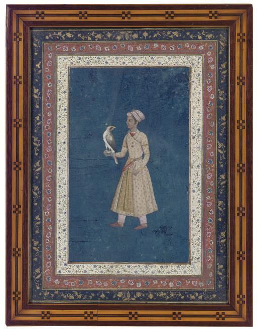 A PORTRAIT OF A FALCONER, INDI