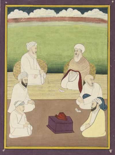 A GROUP OF SUFI SAINTS AND TWO
