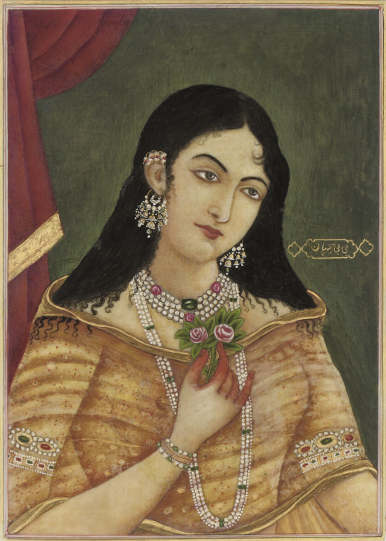 A PORTRAIT OF BIBI JAHAN ON IV