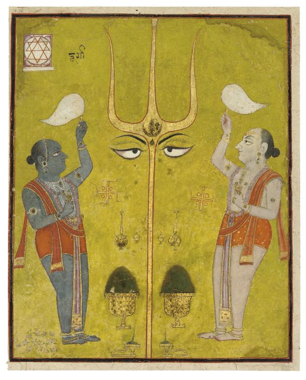 A TANTRIC SCENE, INDIA, RAJAST
