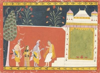 A SCENE FROM A RAGAMALA, 16TH