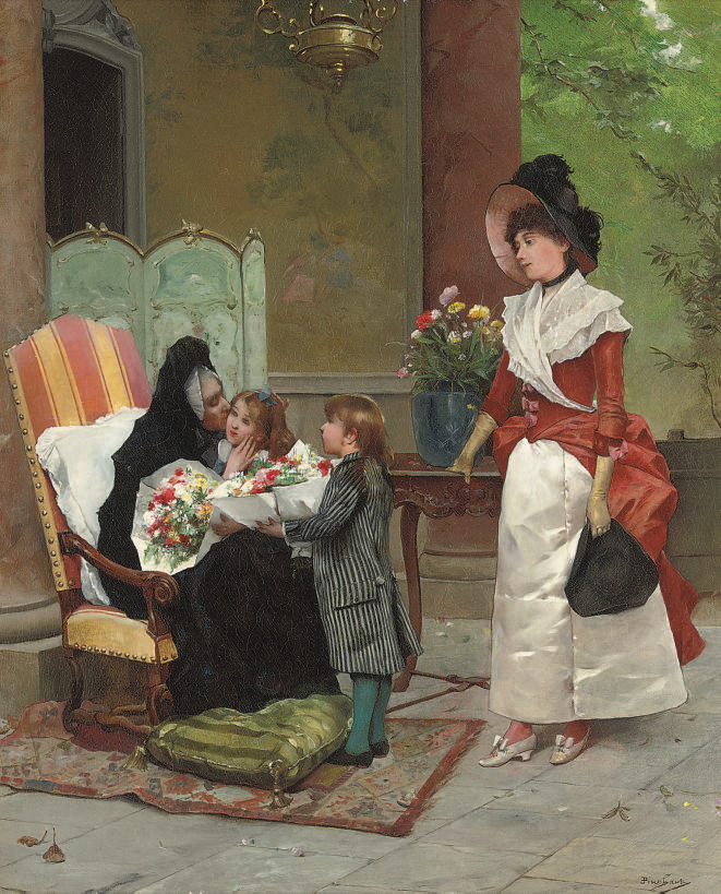 Emile Auguste Pinchart (French