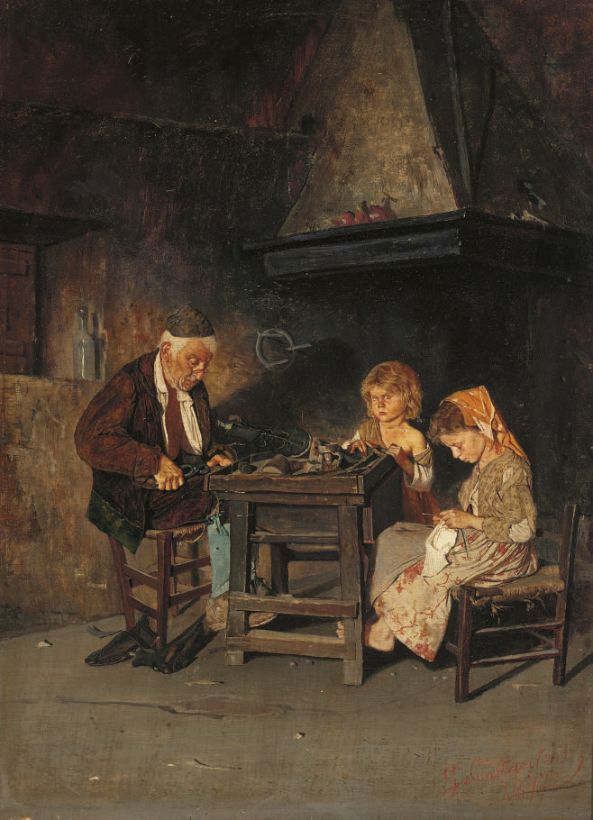 The young apprentices