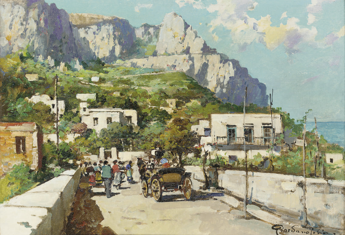 A summer's day, Capri