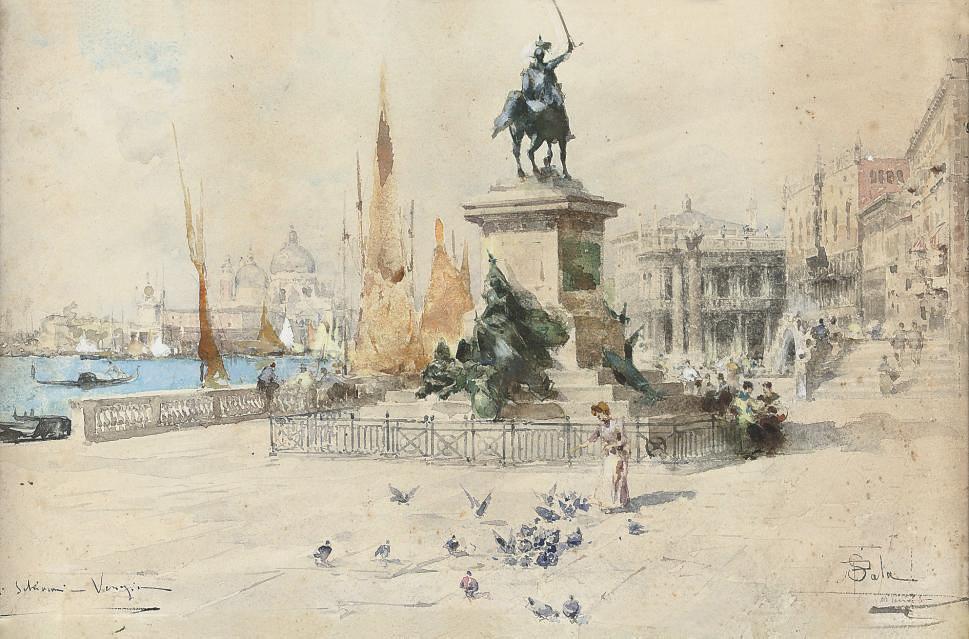 Paolo Sala (Italian, 1859-1929