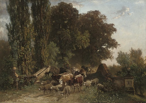 Gustave Ranzoni (Austrian, 182