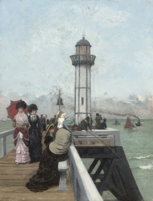 Circle of Alfred Stevens