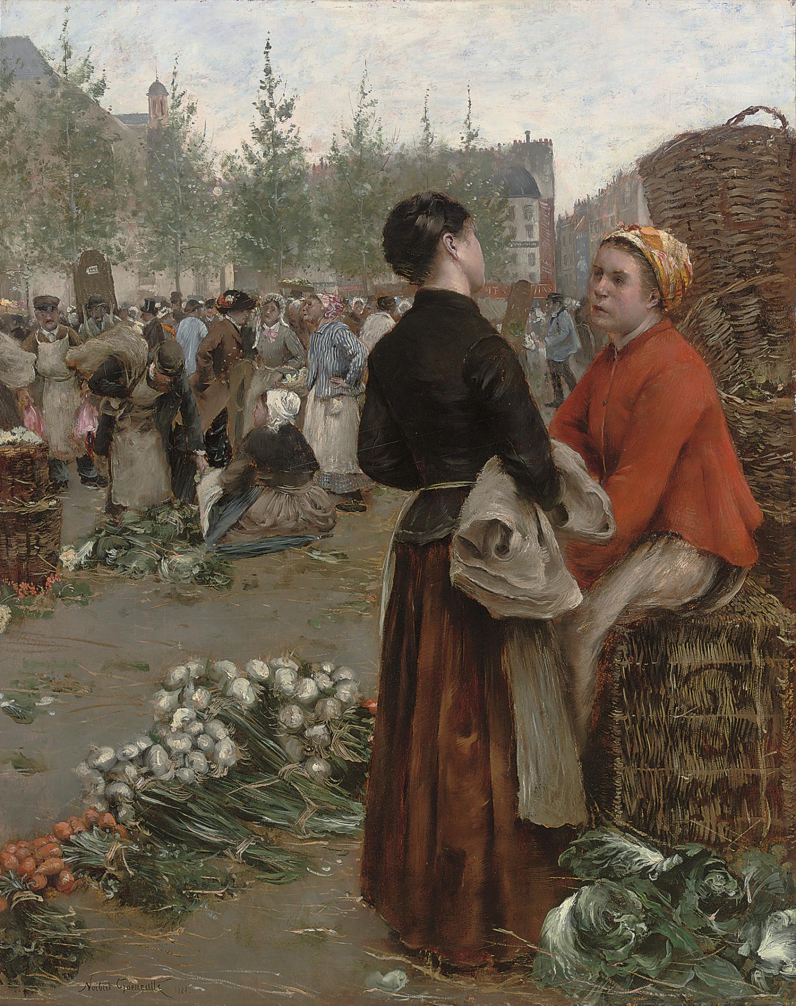 Norbert Goeneutte (French, 185