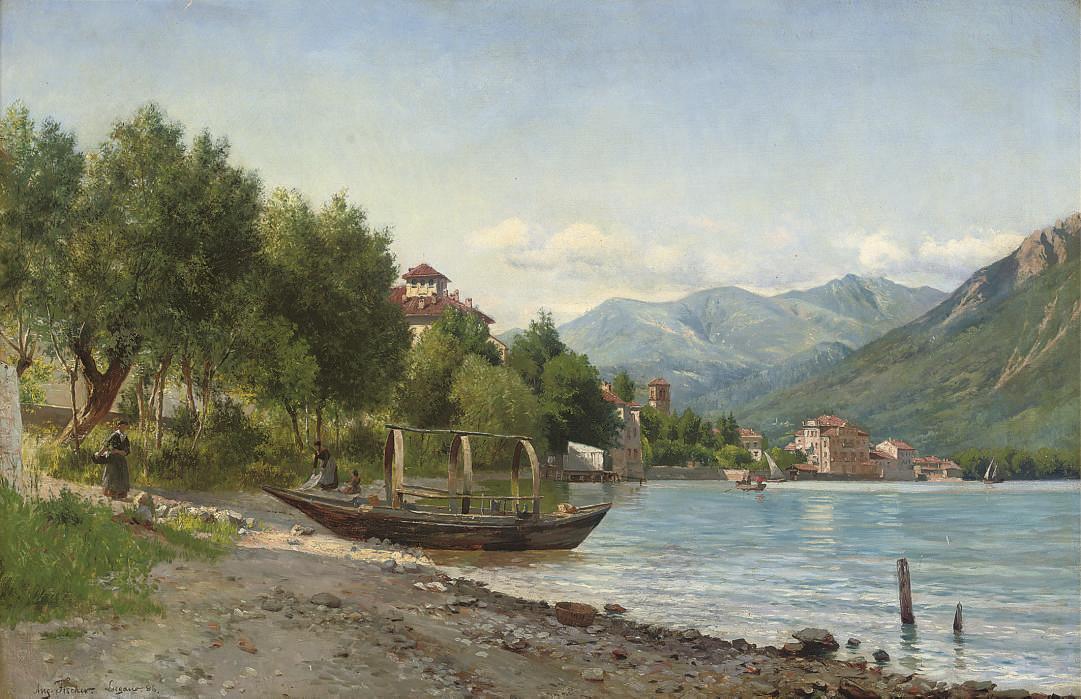 August Fischer (DANISH, 1854-1