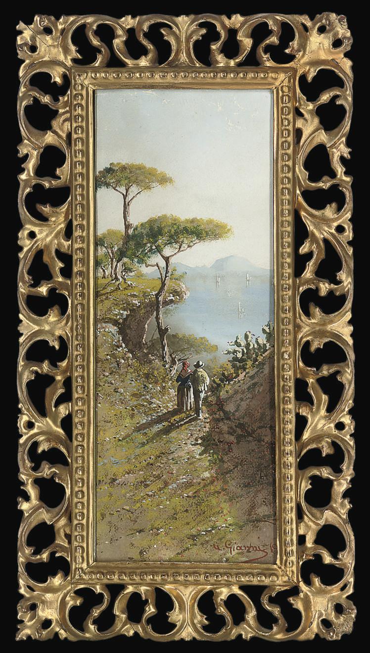 Capri from the Amalfi coast