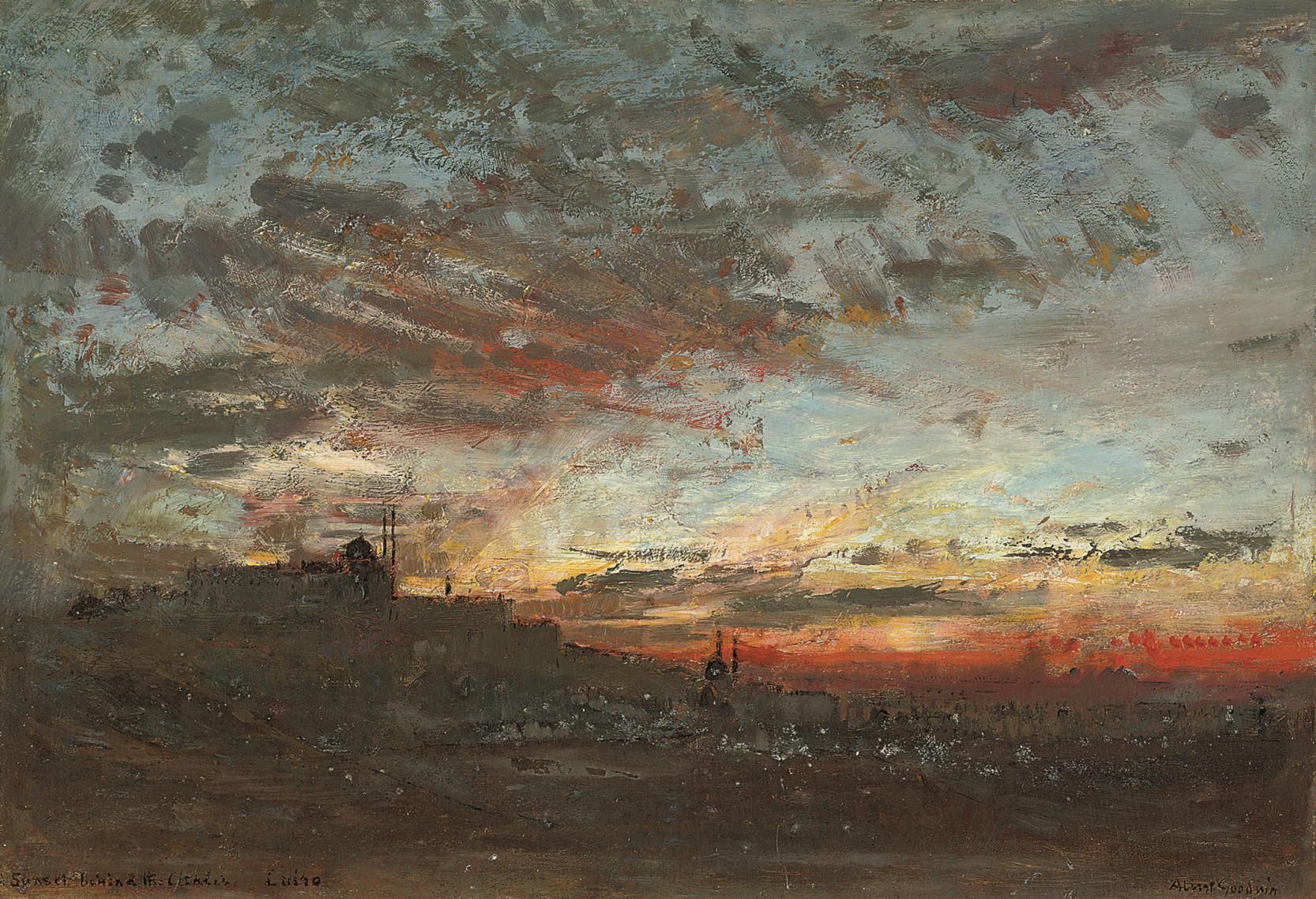 Albert Goodwin (British, 1845-