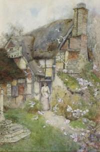 An old cottage near Church Stretton, Shropshire