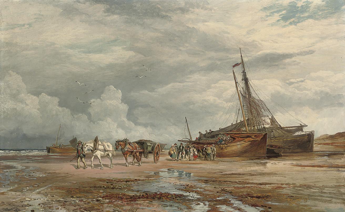 Samuel Bough, R.S.A., R.S.W. (1822-1878)