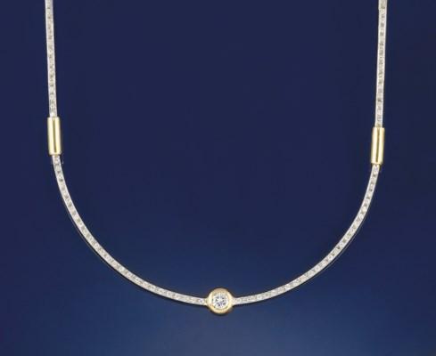 A DIAMOND NECKLACE, BY PIER LU