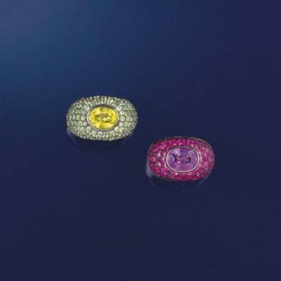 Two gem rings