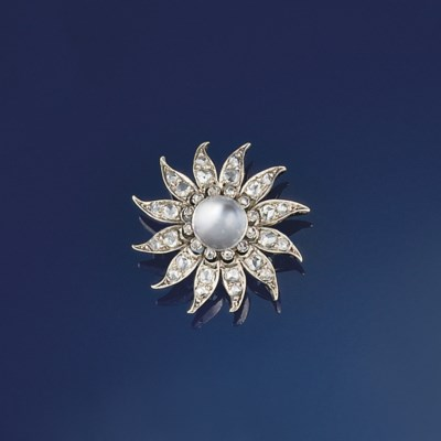 A late 19th century moonstone