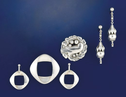 A group of jewellery, by Georg