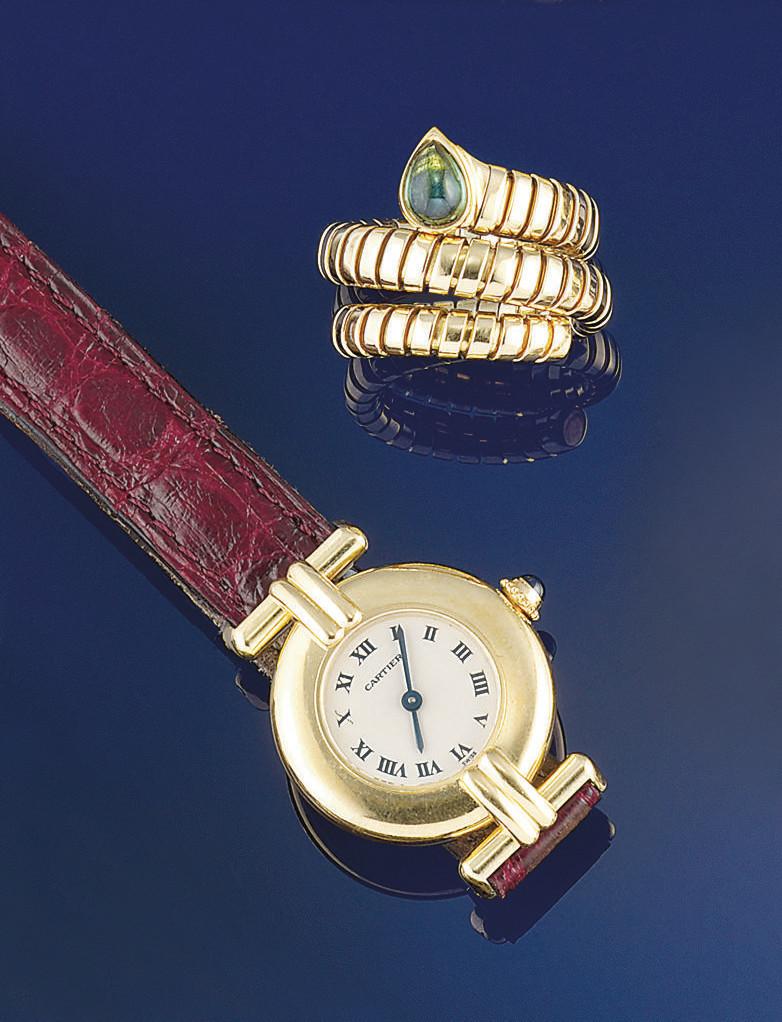 A lady's quartz wristwatch, by
