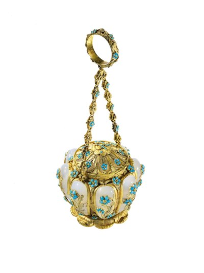 An early 19th century gold, ch