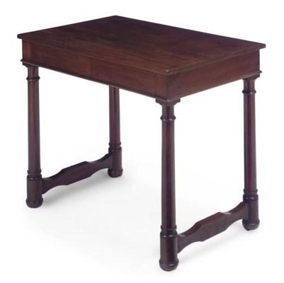 A GEORGE IV MAHOGANY SIDE-TABL