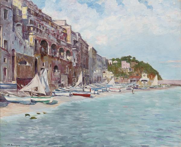 Boats on the Marina Grande, Capri