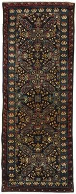 An antique Seychour long rug