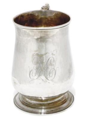A GEORGE III BALUSTER SILVER M