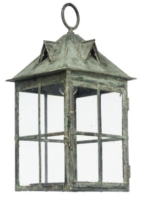 AN EDWARDIAN PATINATED COPPER